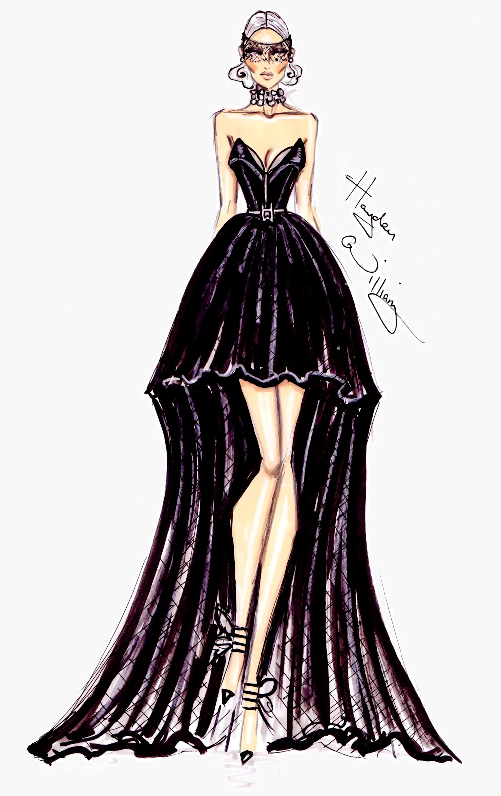 Hayden William Fashion Illustration