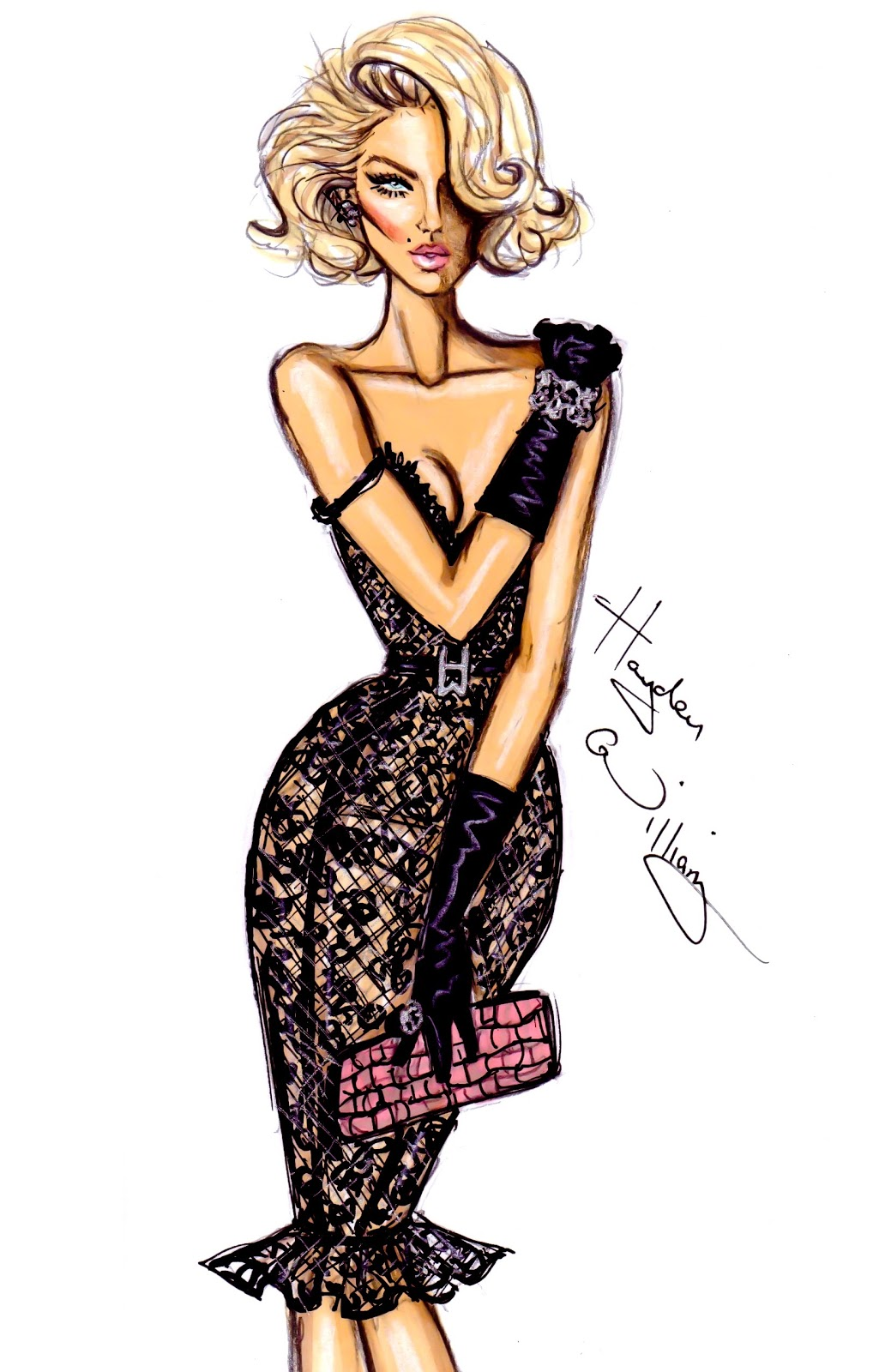 Hayden William Fashion Illustration | newgirllook