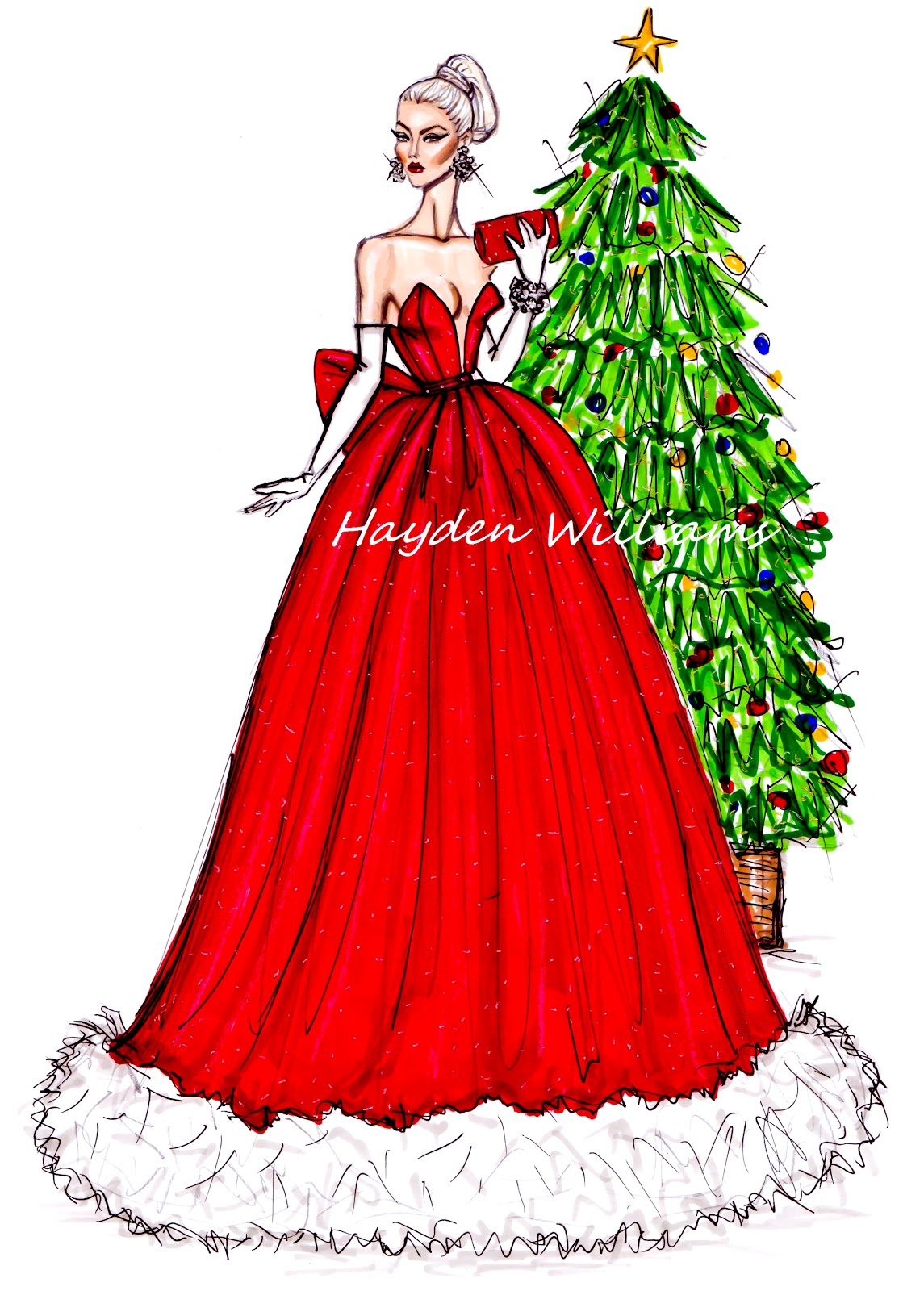 Fashion Illustrations Hayden William Fashion...